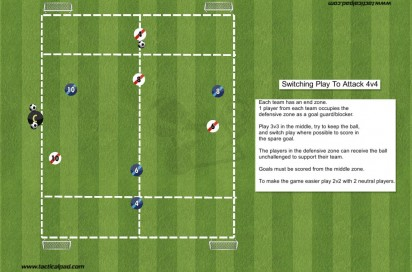 197 4v4 Switching Play To Attack