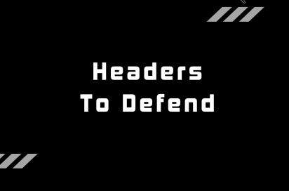 Heading to defend