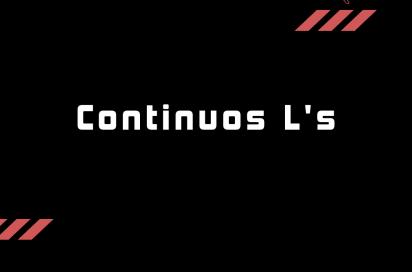 Continuous L's