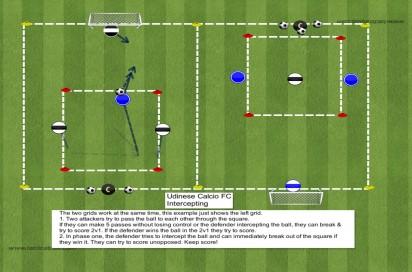 465 Udinese Calcio FC: Intercepting