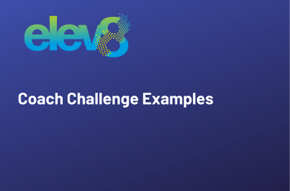 Example Coach Challenges