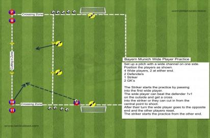 431 Bayern Munich Wide Player Drill