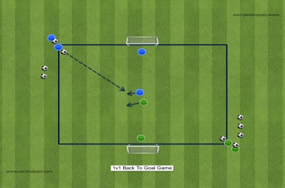 765 1v1 Playing With Your Back To Goal